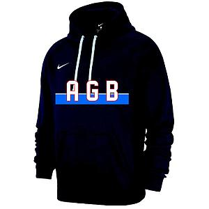 Sweat capuche marine AGB