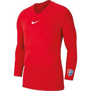 Polo coton Nike Team Club Rouge